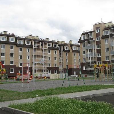 СПб ход строительства жилого комплекса Пушгород