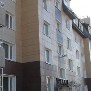 Строительные работы в жилом комплексе Пушгород